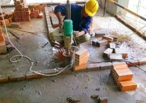 quy trình khoan rút lõi bê tông