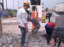 khoan cắt bê tông tại Cầu Giấy Hà Nội